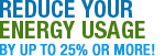 Reduce Your Energy Usage